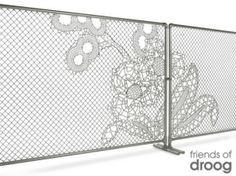 lace chain link fence by tina66