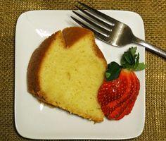 One step pound cake