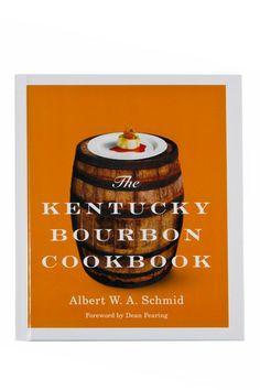Kentucky Bourbon Cookbook.