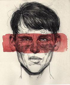 drawings and likenesses by brooklyn-based illustrator adria mercuri Art Sketches, Art Drawings, Illustration Art, Illustrations, Arte Sketchbook, A Level Art, Art Hoe, Ap Art, Portrait Art