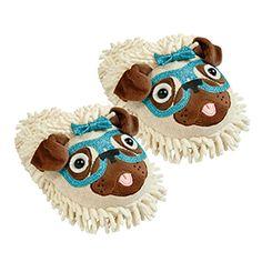 Sparkle Slippers - Pug