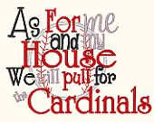 Only slightly blasphemous...but God does love the Cardinals!