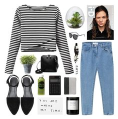 """""""uncertainty"""" by jesicacecillia ❤ liked on Polyvore featuring Alasdair, Byredo, Moon Juice, Muji, CÉLINE, Crate and Barrel, Aesop, women's clothing, women's fashion and women"""