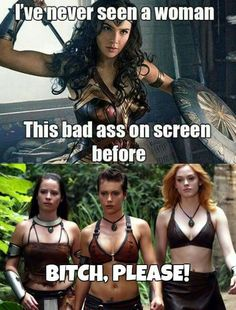 I love Charmed. I love Wonder Woman too of course.