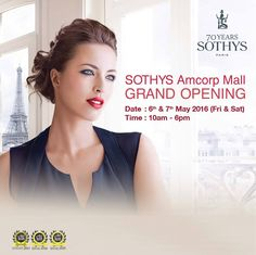 6-7 May 2016: Sothys Amcorp Mall Grand Opening Promotion