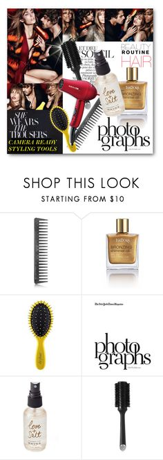 """""""#Beauty Routine - Camera Ready Styling Tools Hair"""" by nikkisg ❤ liked on Polyvore featuring beauty, GHD, Isadora, Drybar, Valentino, Olivine, BaByliss Pro, hair and beautyroutine"""