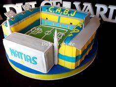Torta de la cancha de Boca Juniors