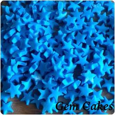 Edible baby Shower christening Blue plaques cupcake toppers decorations for Boys