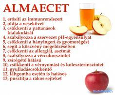 Almaecet - 13 ok Healthy Drinks, Healthy Recipes, Hungarian Recipes, Health Facts, Natural Healing, Health Remedies, Eating Well, Health And Beauty, Herbalism