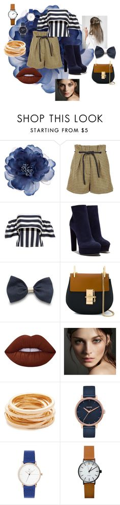 """""""Shes standing on her head"""" by summer-anderson-i on Polyvore featuring Accessorize, 3.1 Phillip Lim, Casadei, Chloé, Lime Crime, Burberry, Kenneth Jay Lane and Nixon"""