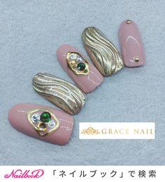 冬/クリスマス/パーティー/デート/ハンド - gracenail2017のネイルデザイン[No.3750774]|ネイルブック Japanese Nail Art, Jam And Jelly, Design