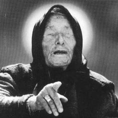 Baba Vanga was a blind Bulgarian woman (born died who was a herbalist and alleged mystic who made many predictions for the future. She became incredibly popular due to her so-called mystical powers. When she died huge crowds attended her funeral. Paranormal, Aliens And Ufos, Ancient Aliens, Baba Vanga, Mystery, Interesting History, The Past, Weird, Making Predictions