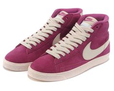 1479 : Nike Blazer Mid Dam Purplish Röd SE311160ecxNilL