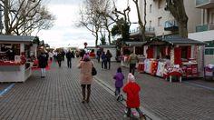 am Abend wird dann der Christkindlmarkt in Lignano besucht