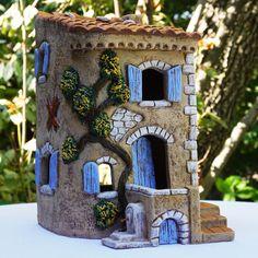 Maisons pour santons au format 7 cm