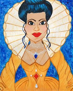 Queen of Hearts Wood Framed Print 11 X 14 Fine by ChristoffDavis, $110.00