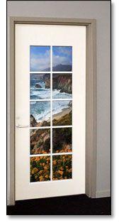 French Door Series - Door Murals