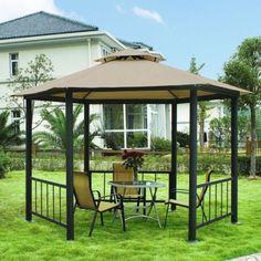 Simple Minimalist Garden Gazebo Design Ideas →  https://wp.me/p8owWu-1Ii -