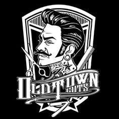 #Oldtowncuts #Barbershop #bandung #Classic #rockabilly #Hairstyle #oldschool #Greaser #vector #Tattoo #MillArt
