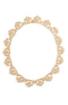 Nadri Scalloped Crystal Necklace | Nordstrom