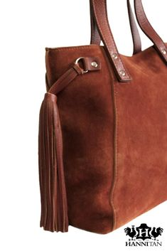 The Mia in Kudu Suede Leather Coat Of Arms, New Trends, Suede Leather, Leather Handbags, Lady, Fashion, Moda, Leather Totes, New Fashion