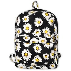 Motel Tripper Printed Rucksack in Wild Daisy ($57) ❤ liked on Polyvore featuring bags, backpacks, accessories, mochilas, wild daisy, backpacks bags, zipper bag, knapsack bags, zip bags and rucksack bag