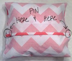 DIY Pillowcase | A Curiously Chic Life