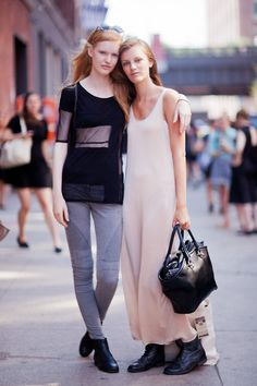 Street Style  Models: Anniek Kortleve and Laura Kampman