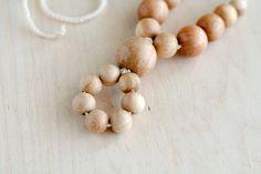 ORGANIC Teething necklace Nursing pendant All by kangarusha