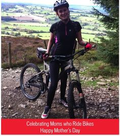 Mom Michelle over in Wales getting muddy (courtesy of dad @Carol Palma Parkin - the photo, not the mud). Send us your cool mom who rides photos: http://pinterest.com/pin/238409373996629810/