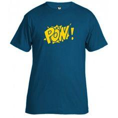 POW! T-shirt. Camiseta POW!