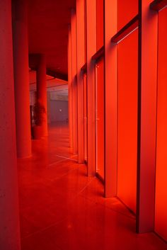 Red glow - Frosted red glass panels at entrance of the new Seattle City Hall Foto Picture, Photo Wall, Picture Wall, Wallpaper Tumblrs, Red Wallpaper, Colors Of Fire, I See Red, Simply Red, Red Rooms