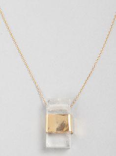 - Aesa - Rapt quartz Necklace