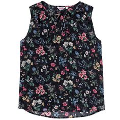 Meadow Double Layer Sleeveless Top | Cath Kidston |