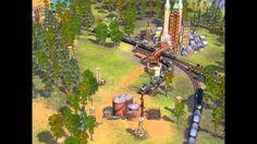 Sid Meiers Railroads! PC 2006 Gameplay