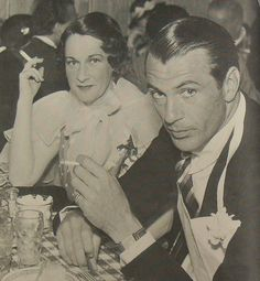 Gary Cooper Vintage Hollywood 1930s Photo Cinema 1933 COUNTESS DOROTHY DI FRASSO by Christian Montone, via Flickr