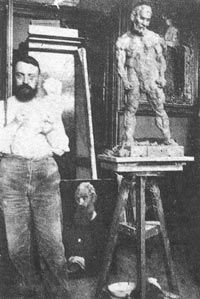 """Matisse: """"I sculpted as a painter, I did not sculpt like a sculptor. Sculpture does not say what painting says."""""""