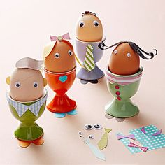 Modern Easter Egg Crafts: Family Affair (via Parents.com)