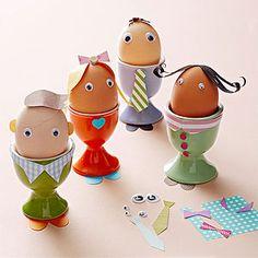 Modern Easter Egg Crafts: Family Affair (via Parents.com)