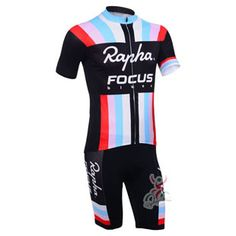 a385a628e 2013 RAPHA FOCUS Team Pro Bike Clothing Kit Cycle Jersey and Bib Shorts