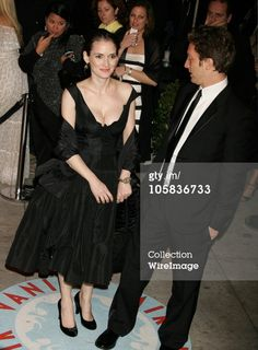Winona Ryder and Henry Alex Rubin during 2006 Vanity Fair Oscar Party Hosted by Graydon Carter - Arrivals at Morton's in West Hollywood, California, United States. (Photo by Jeffrey Mayer/WireImage)