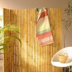 Bambuswand, B 180 cm, H 180 cm
