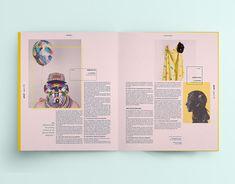 Magazine & Design Layout on Behance - Page Layout Design, Graphic Design Layouts, Book Layout, Graphic Design Inspiration, Web Design, Design Posters, Magazine Layout Inspiration, Magazine Layout Design, Magazine Layouts