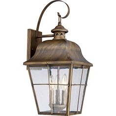 Outdoor Décor-Quoizel MHE8410VN Three Light Outdoor Lantern -- Check out this great product.