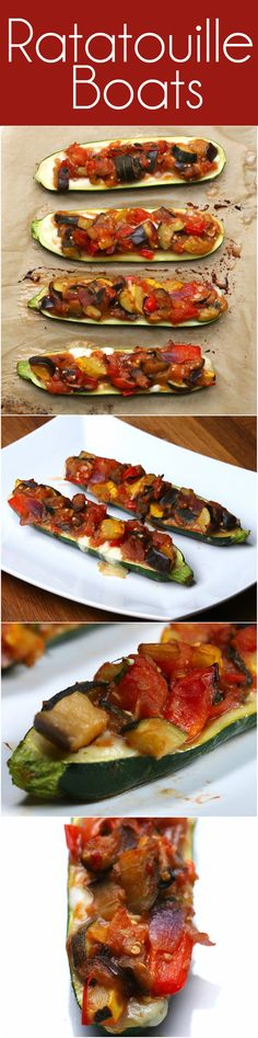 Ratatouille Boats | These Ratatouille Boats Are Just A Delight