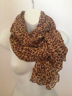 leopard scarf,