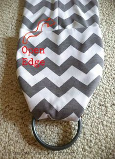 DIY Ring Sling Tutorial-- will be making one of these :3