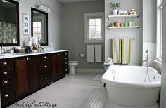 Master Bath - www.thelilypadcottage.com