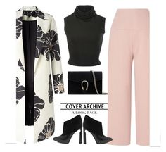 """Untitled #581"" by jovana-p-com ❤ liked on Polyvore featuring Brandon Maxwell, Gucci, Jimmy Choo, L.K.Bennett and White Label"