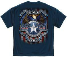 USAF Star Shield t-shirt - Get it at : http://www.priorservice.com/u-s--air-force-star-shield-t-shirt.html